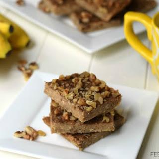 3 Ingredient Peanut Butter Banana Bars.