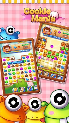 Cookie Mania - Match-3 Sweet Game  screenshots 6