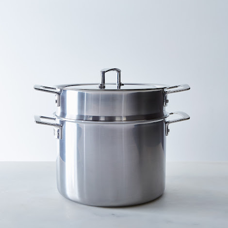 Zwilling Aurora 5-Ply Stainless Steel Stock Pot with Lid, 8QT