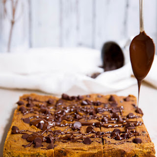 Chocolate Chip Coconut Flour Pumpkin Bars