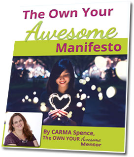 Own Your Awesome Manifesto 3D Cover