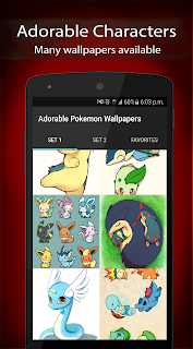Adorable Pokemon Wallpapers Aplicaciones (apk) descarga gratuita para Android/PC/Windows screenshot
