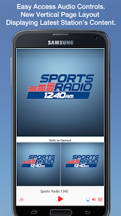 Sports Radio 1240- screenshot thumbnail