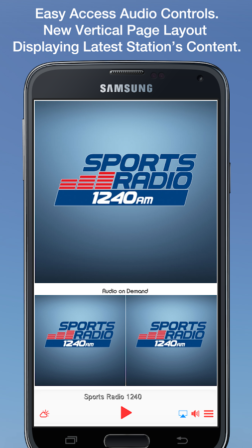 Sports Radio 1240- screenshot