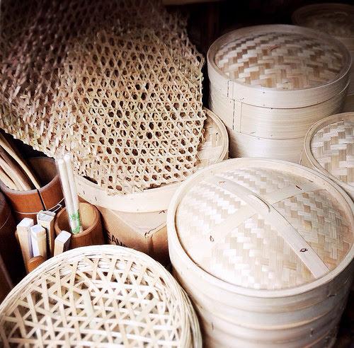 bamboo, steamer, handmade, hong kong, bamboo steamer, chinese