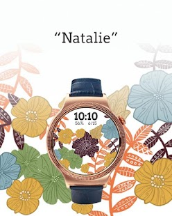 Floral Watch Face- screenshot thumbnail