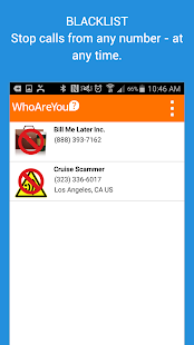 WhoAreYou Caller ID + Blocker- screenshot thumbnail