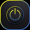 Volume unlock power-shake to lock- screen on/off icon