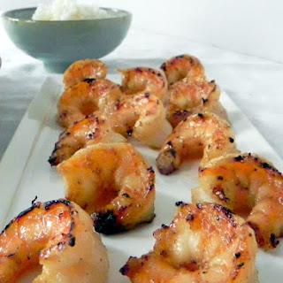 Grilled Coconut Honey Lime Shrimp