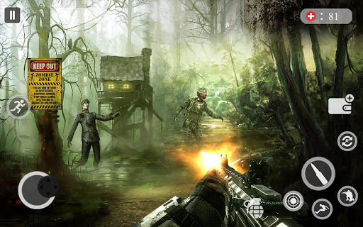 FPS Special Forces Strike Zombie Survival Games 1.0 {cheat|hack|gameplay|apk mod|resources generator} 3
