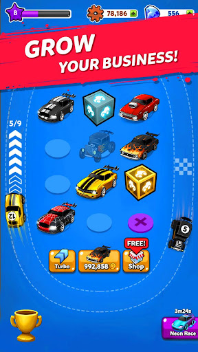 Merge Muscle Car: Classic American Muscle Merger 1.0.90 screenshots 3