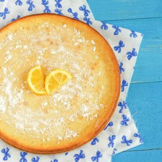 Impossible Lemon Pie.