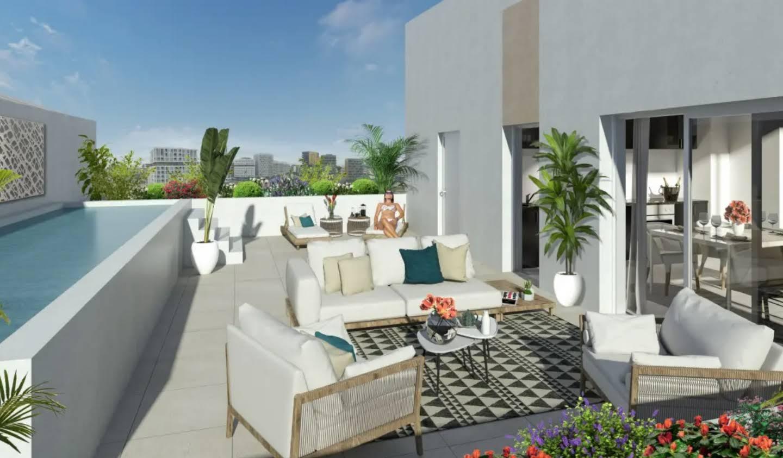 Appartement avec piscine en bord de mer Montpellier