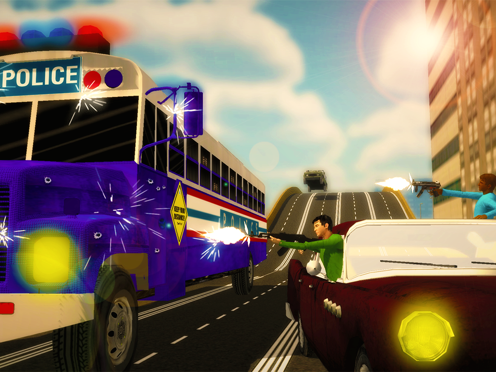 Police-Bus-Gangster-Chase 19