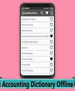 Accounting Dictionary Offline - náhled