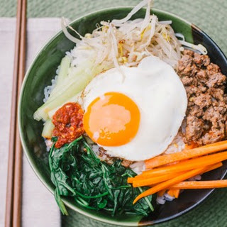 Clean Eating Korean Bipimbap