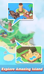 Idle Island: Build and Survive Mod Apk (Unlimited Diamonds) 6