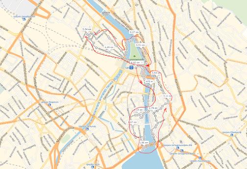 Маршрут по Цюриху