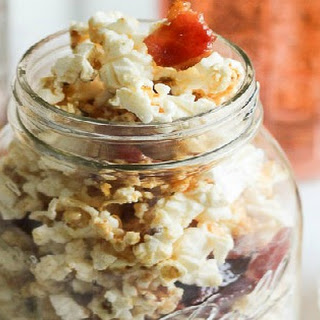 Maple, Bacon, Bourbon Popcorn