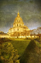 Photo: The Palace de Invalides... nestled between Notre Dame and the Eiffel Tower. It is a looooong walk between the two, and many many pastry shoppes along the way...