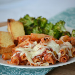 3-ingredient Baked Ziti.