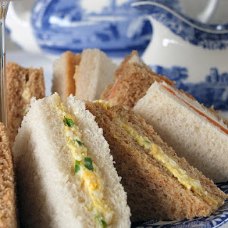 A Trio of Sandwiches for Afternoon Tea Recipe