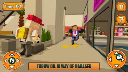 Scary Manager In Supermarket android2mod screenshots 3
