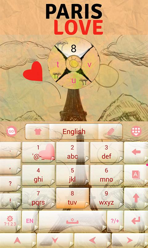 Paris-Love-GO-Keyboard 8