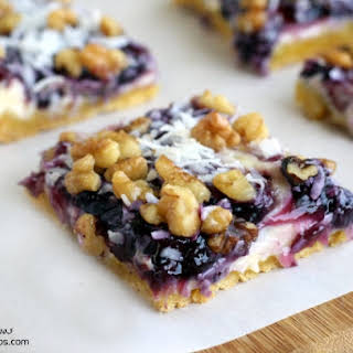 Blueberry Snack Bars.