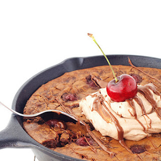 Black Forest Skillet Brownie.