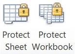 Sheets protected (appear with lock) in 2010  version