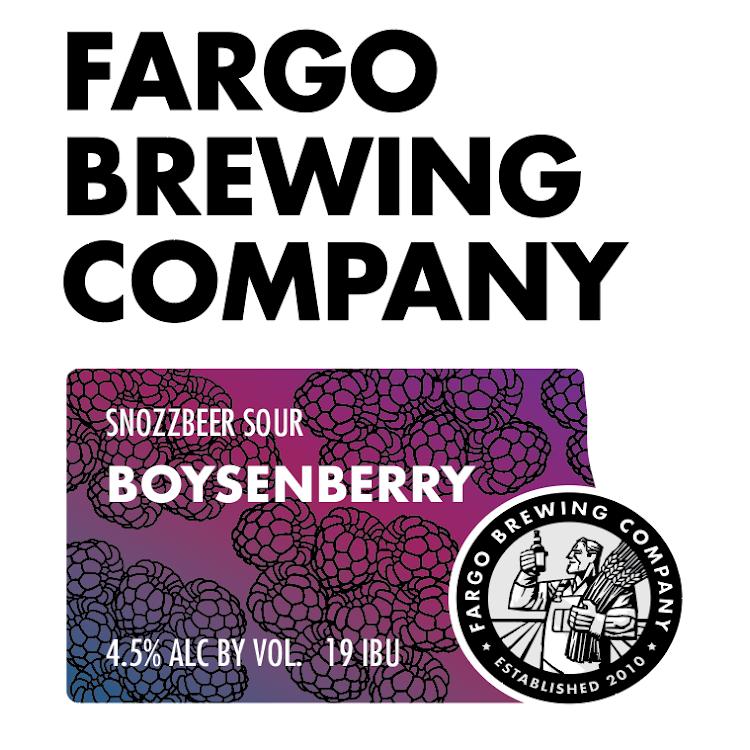 Logo of Fargo SnozzBeer - Boysenberry