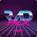Rad Pack - 80's Theme (Free Version) icon