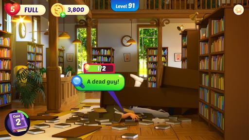 Small Town Murders: Match 3 Crime Mystery Stories filehippodl screenshot 8