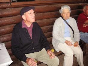 Photo: Zwei treue Gönner Paul und Alice Gisin Tenniken sind auch gerne unter uns.