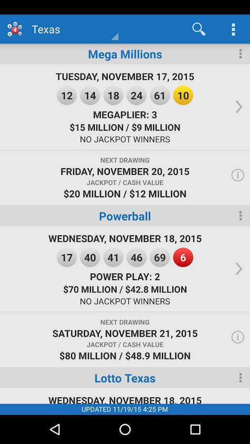 Florida Lottery Powerball Winning Numbers