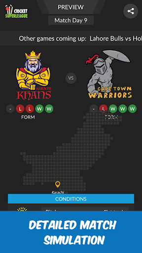 Wicket Super League - A Cricket Manager Game! 0.9999 de.gamequotes.net 5