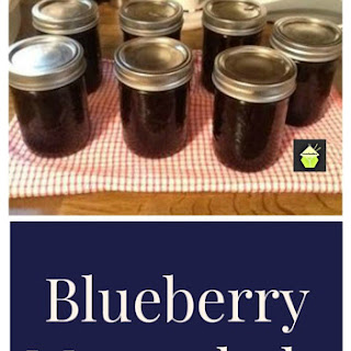 Blueberry Marmalade Recipe