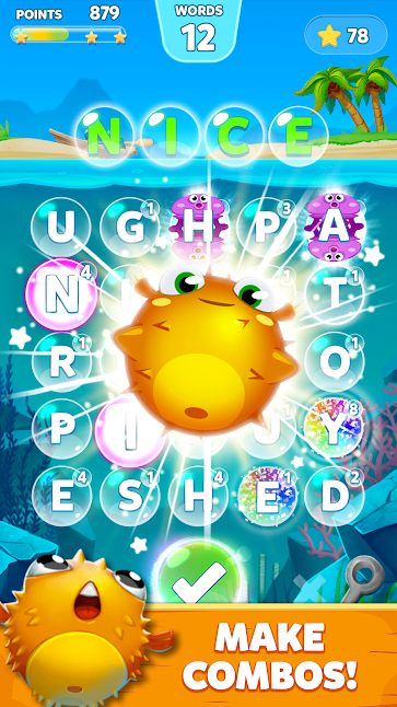 Bubble Word Games! mod v1 3 6 apk download Search & Connect