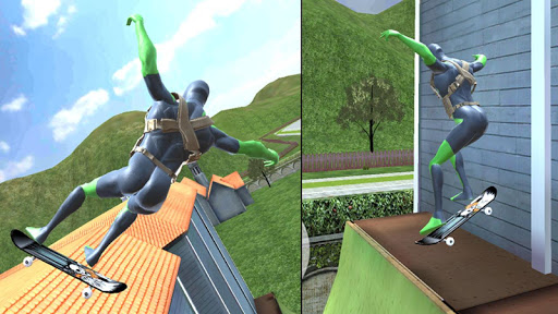 Rope Frog Ninja Hero - Strange Gangster Vegas apkdebit screenshots 4
