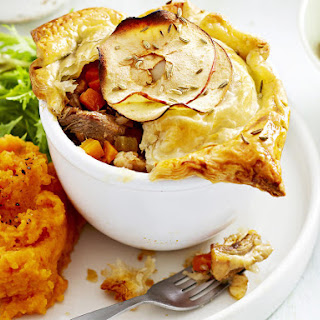 Pork and Apple Pot Pies