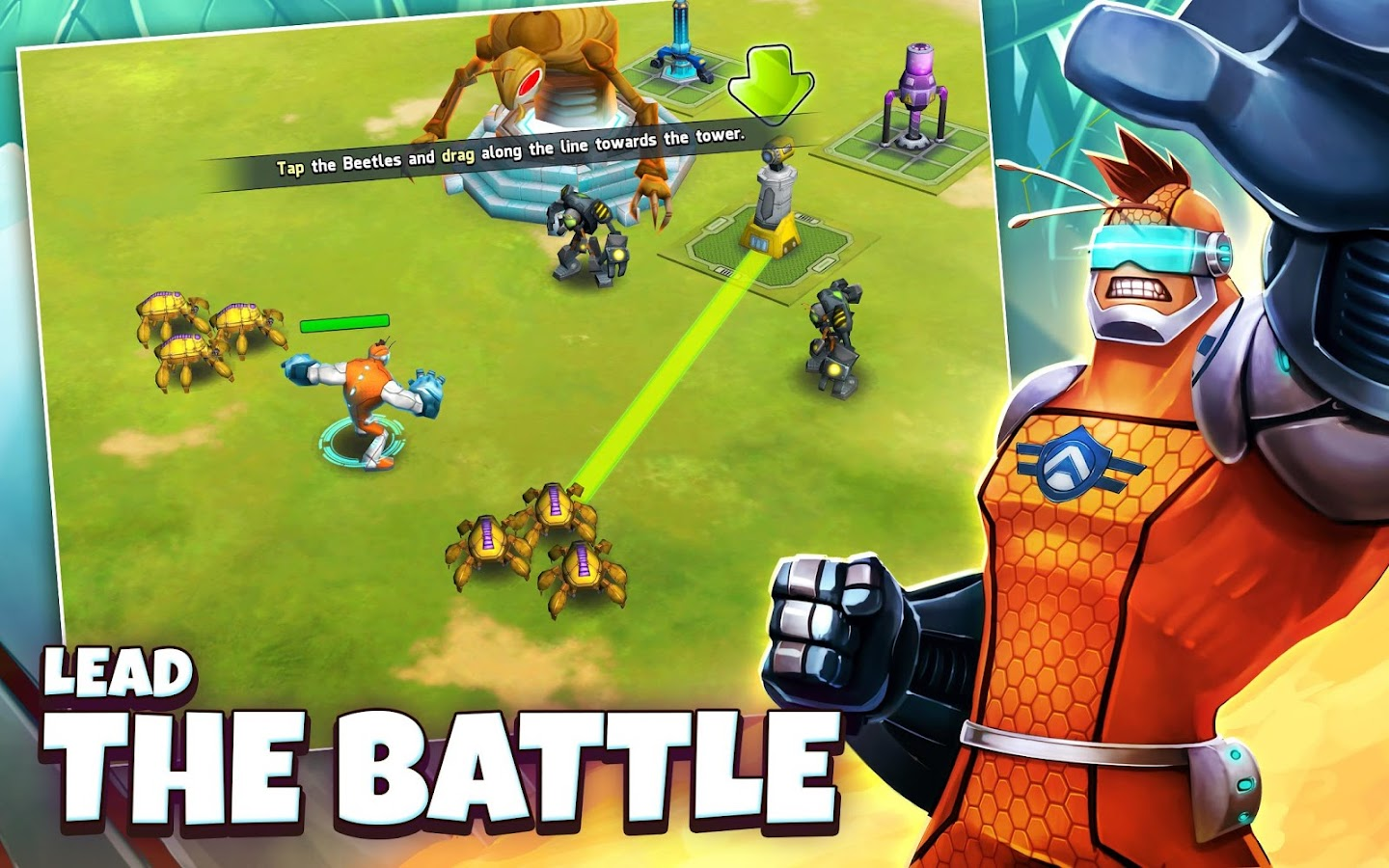 Armies & Ants: Epic War Battle- screenshot