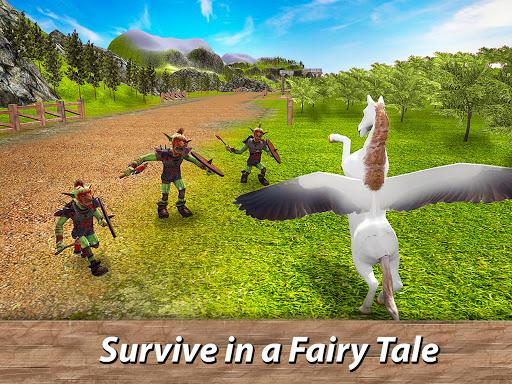 ud83eudd84ud83cudf08u2764ufe0f Pegasus Simulator: Flying ud83dudc0e Horse Survival 1.1 screenshots 8