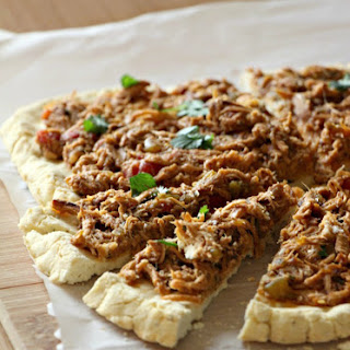 Pulled Mexican Chicken Pizza (Grain-Free, Dairy-Free, Nut-Free)