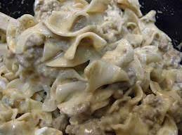 Mom's Skillet Beef Stroganoff Recipe