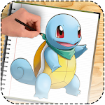 learn to draw pokemon Easy Icon