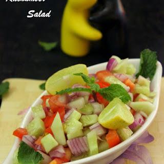 Kachumber Salad - Vegetable Salad.