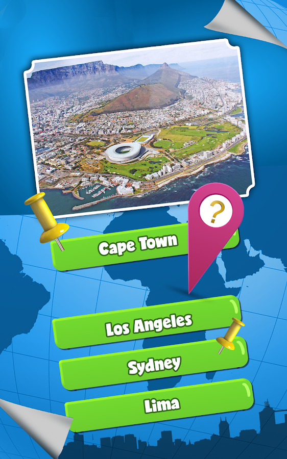 World Capitals Of Countries Quiz On Capital Cities  Android Apps