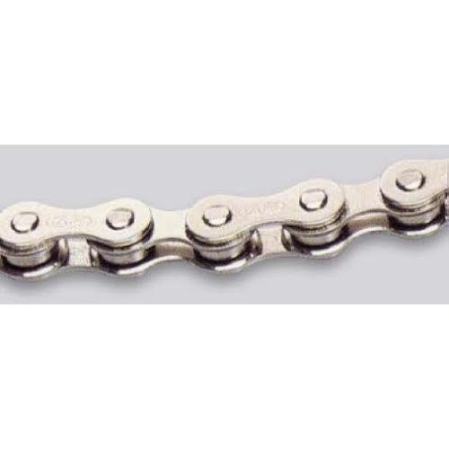 """Izumi Eco 1/8"""" Track/SS Chain, Silver"""