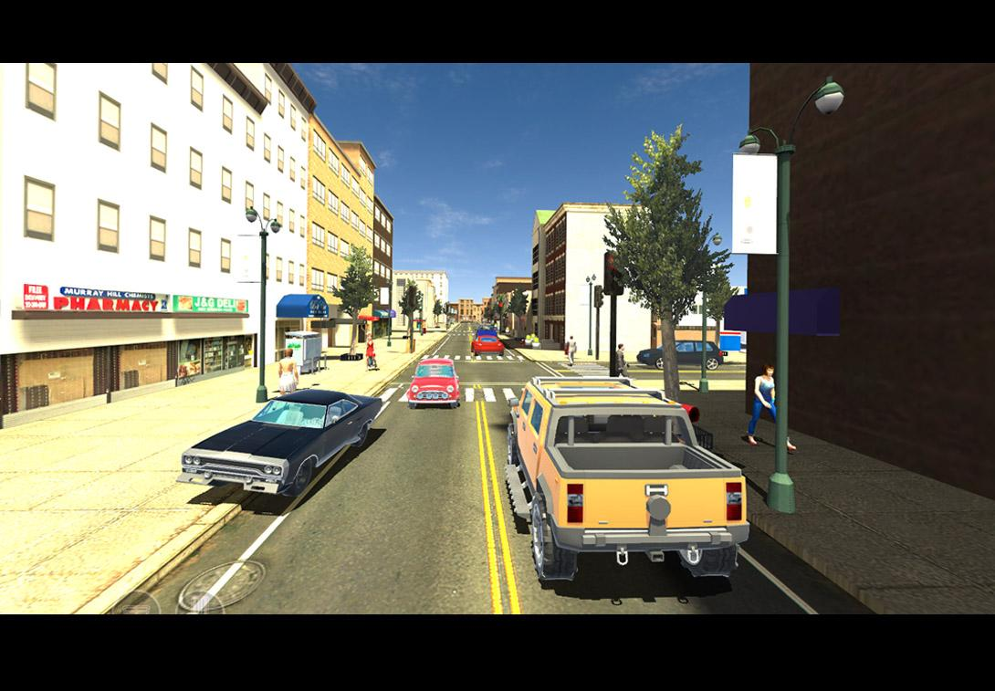 Crime Wars S. Andreas- screenshot